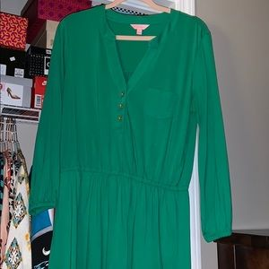 Kelly green Lilly dress